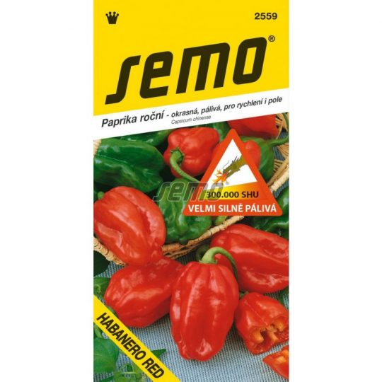 paprika habanero red,záhradníctvo fajčáková
